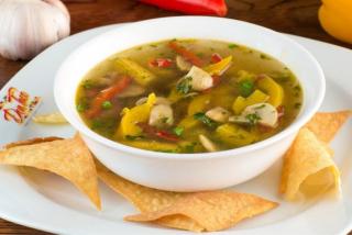 Суп из кукурузных початков