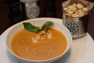 Картофельный суп с куриным филе