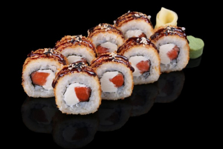 Roll Tempura Somon