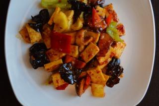 Тофу с овощами (Китай)