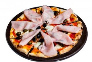 Пицца Капричоса (ветчина, артишоки, оливки)