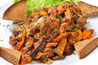 Ratatouille with beef