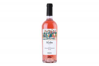 Vinohora Feteasca Neagra&Mantipulciano Roze, розовое сухое