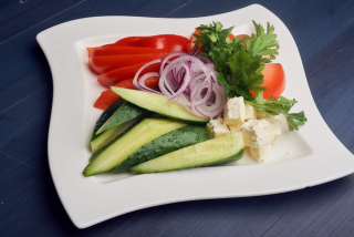 Fresh vegetable appetizer