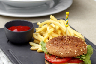 "Business lunch ""Burger classic"""