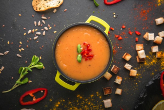 Saturday - Vegetable soup cream