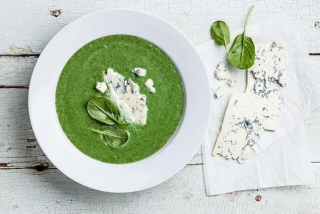 Monday - Spinach cream soup